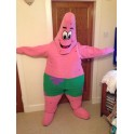 Hire Rent Patrick star mascot costume