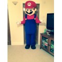 Hire Rent Mario Mascot Costume (Deluxe)