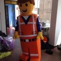 Lego Emmet Mascot Costume