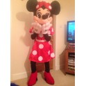 New Minnie Mouse Mascot Costume