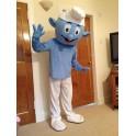Hire Smurf Mascot Costume