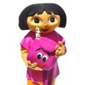 Hire Rent Dora dora the explorer mascot costume