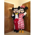 Mickey and Minnie Mascot Costume Hire