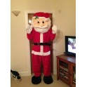 Adult Santa Claus Xmas Mascot Father Christmas Fancy Dress Costume