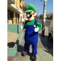 Hire Rent Luigi Mascot Costume (Deluxe)